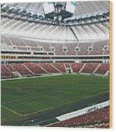 Warsaw Stadion Wood Print