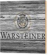 Warsteiner Wood Print