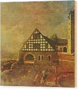 Wartburg Castle Wood Print