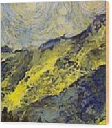Wasatch Range Spring Colors Wood Print