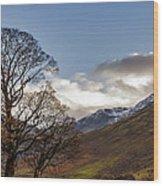 Wasdale Head Lake District Wood Print