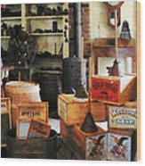 Washboards And Soap Wood Print