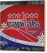 Washington Capitals Christmas Wood Print