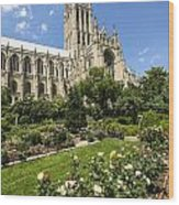 Washington Cathedral 3 Wood Print