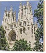 Washington Cathedral 5 Wood Print