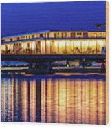 Washington D.c. -kennedy Center Wood Print