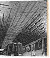 Washington Dc Metro Wood Print