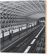 Washington Dc Metro Station I Wood Print