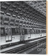 Washington Dc Metro Station Vi Wood Print