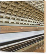 Washington Dc Metro Station Vii Wood Print
