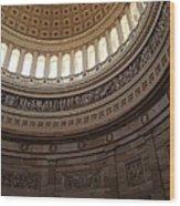 Washington Dc - Us Capitol - 011311 Wood Print