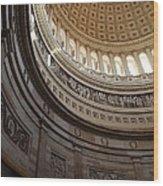 Washington Dc - Us Capitol - 01138 Wood Print