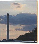 Washington Dc - Washington Monument - 01131 Wood Print by DC Photographer