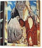 Washington In Drag Mural In Washinton Park Cincinnati Wood Print