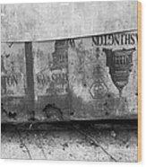Washington Line Wood Print