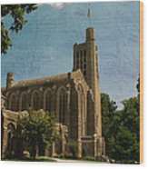 Washington Memorial Chapel Wood Print