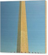 Washington Memorial Wood Print