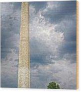 Washington Monument 2 Wood Print