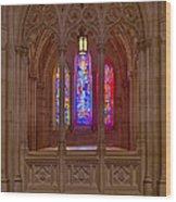 Washington National Cathedral Colors Wood Print