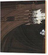 Washington National Cathedral - Washington Dc - 0113103 Wood Print by DC Photographer