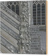 Washington National Cathedral - Washington Dc - 0113111 Wood Print by DC Photographer