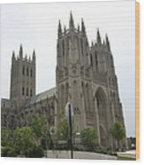 Washington National Cathedral - Washington Dc - 0113112 Wood Print