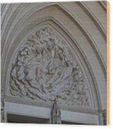 Washington National Cathedral - Washington Dc - 0113118 Wood Print by DC Photographer