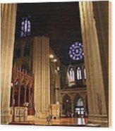 Washington National Cathedral - Washington Dc - 011314 Wood Print by DC Photographer