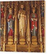 Washington National Cathedral - Washington Dc - 011321 Wood Print by DC Photographer