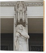 Washington National Cathedral - Washington Dc - 011344 Wood Print by DC Photographer