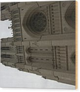 Washington National Cathedral - Washington Dc - 011354 Wood Print by DC Photographer