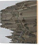 Washington National Cathedral - Washington Dc - 011357 Wood Print by DC Photographer