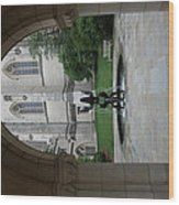 Washington National Cathedral - Washington Dc - 011359 Wood Print by DC Photographer