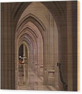 Washington National Cathedral - Washington Dc - 01136 Wood Print