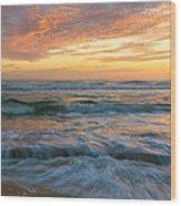 Washington Oaks At Low Tide Wood Print