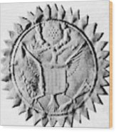 Washington Seal Wood Print
