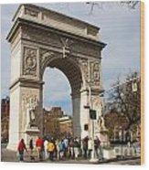 Washington Square Arch New York City Wood Print