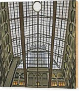 Inside The Old Post Office Wood Print