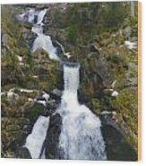 Wasserfalle Wood Print
