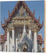 Wat Amarintaram Ubosot Dthb1507 Wood Print