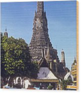 Wat Arun Wood Print