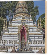 Wat Chai Monkol Phra Chedi Buddha Niche Dthcm0863 Wood Print