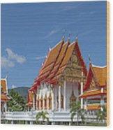 Wat Luang Pu Supa Ubosot Dthp323 Wood Print
