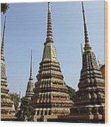 Wat Pho - Bangkok Thailand - 011319 Wood Print