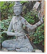 Wat Pho Wood Print