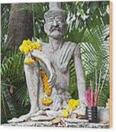 Wat Pho, Thailand Wood Print