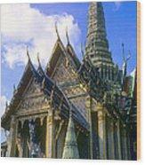 Wat Phra Kaew Wood Print