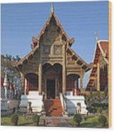 Wat Phra Singh Phra Ubosot Dthcm0246 Wood Print