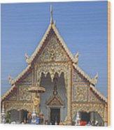 Wat Phra Singh Phra Wihan Luang Gable Dthcm0238 Wood Print