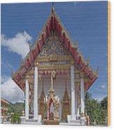 Wat Suwan Khiri Khet Ubosot Dthp269 Wood Print